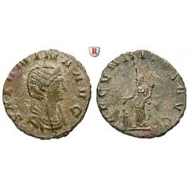 Römische Kaiserzeit, Salonina, Frau des Gallienus, Denar 253-268, ss+