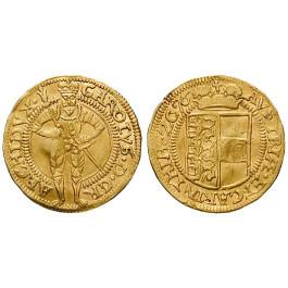 Römisch Deutsches Reich, Erzherzog Karl, Dukat 1576, 3,4 g fein, f.vz