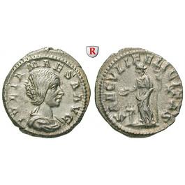 Römische Kaiserzeit, Julia Maesa, Großmutter des Elagabal, Denar 220-222, ss-vz/ss