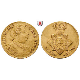Brandenburg-Preussen, Königreich Preussen, Friedrich Wilhelm I., Dukat 1737, ss-vz