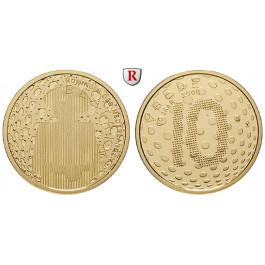 Niederlande, Königreich, Beatrix, 10 Euro 2005, 6,05 g fein, PP