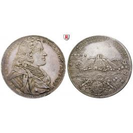 Hessen, Hessen-Darmstadt, Ernst Ludwig, Reichstaler 1714, f.vz