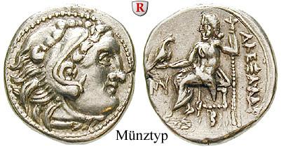 Makedonien Königreich Alexander Iii Der Grosse Drachme 336 323 V