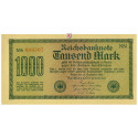 Inflation 1919-1924, 1000 Mark 15.09.1922, I-, Rb. 75q