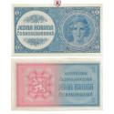 Besatzungsausgaben des 2. Weltkrieges 1939-1945, Böhmen und Mähren, 1 Krone o.D., I, Rb. 556c