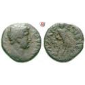 Römische Provinzialprägungen, Judaea, Gaza, Hadrianus, Bronze 131-134, s+