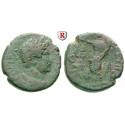 Römische Provinzialprägungen, Judaea, Gaza, Hadrianus, Bronze 131-132, s+