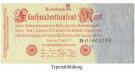 Inflation 1919-1924, 500000 Mark 25.07.1923, II, Rb. 91b
