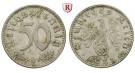 Drittes Reich, 50 Reichspfennig 1942, G, ss, J. 372