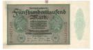 Inflation 1919-1924, 500000 Mark 01.05.1923, III, Rb. 87b