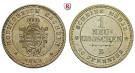 Sachsen, Königreich Sachsen, Johann, Neugroschen 1863, vz-st/vz