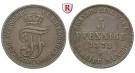 Mecklenburg, Mecklenburg-Strelitz, Friedrich Wilhelm, 5 Pfennig 1872, ss-vz