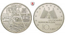 Bundesrepublik Deutschland, 10 Euro 2003, Industrielandschaft Ruhrgebiet, F, PP, J. 501