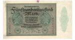 Inflation 1919-1924, 500000 Mark 01.05.1923, I-, Rb. 87b