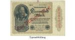 Inflation 1919-1924, 1 Md Mark 15.12.1922, I, Rb. 110b