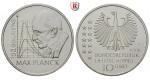 Bundesrepublik Deutschland, 10 Euro 2008, Max Planck, F, PP, J. 535