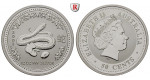 Australien, Elizabeth II., 50 Cents 2001, 15,53 g fein, st