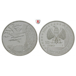 Bundesrepublik Deutschland, 10 Euro 2004, Wattenmeer, J, PP, J. 507
