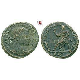 Römische Kaiserzeit, Maximianus Herculius, Follis, ss