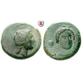 Italien-Bruttium, Medma, Bronze 4. Jh.v.Chr., f.ss