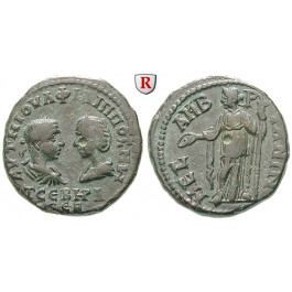 Römische Provinzialprägungen, Thrakien, Mesembria, Philippus I., Bronze 244-249, vz