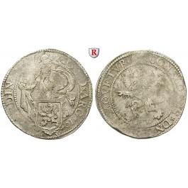 Niederlande, Holland, 1/2 Löwentaler 1601, ss