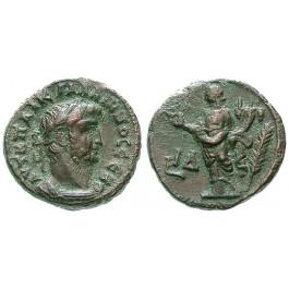 Römische Provinzialprägungen, Ägypten, Alexandria, Gallienus, Tetradrachme Jahr 14 = 266-267, ss-vz