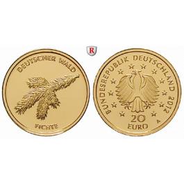 Bundesrepublik Deutschland, 20 Euro 2012, A, 3,89 g fein, st