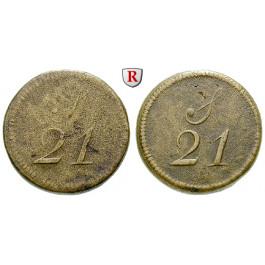 Grossbritannien, George III., Münzgewicht zu 1 Guinea, s