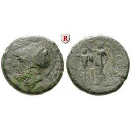 Italien-Bruttium, Brettier, Bronze 216-213 v.Chr., f.ss