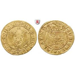 Niederlande, Zeeland, Doppeldukat o.J. (1581-1583), vz