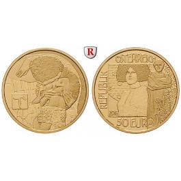 Österreich, 2. Republik, 50 Euro 2014, 10,0 g fein, st