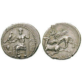 Kappadokien, Königreich, Ariarathes I., Drachme, vz