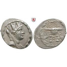Seleukis und Pieria, Seleukeia Pieria, Tetradrachme Jahr 12 = 98-97 v.Chr., vz+