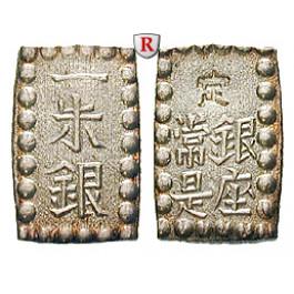 Japan, Kaei/Meiji-Ära, Shu 1853-1865, 1,83 g fein, ss