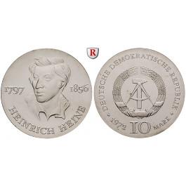 DDR, 10 Mark 1972, Heine, st, J. 1542