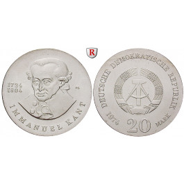 DDR, 20 Mark 1974, Kant, st, J. 1549
