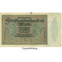 Inflation 1919-1924, 500000 Mark 01.05.1923, I-, Rb. 87f