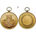 Frankreich, Städte, Vergoldete Bronzemedaille 1888, vz