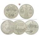 Bundesrepublik Deutschland, 10 DM 1998-, 14,34 g fein, vz-st