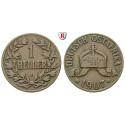 Nebengebiete, Deutsch-Ostafrika, 1 Heller 1907, J, ss, J. 716