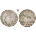 Braunschweig, Braunschweig-Wolfenbüttel, Karl, 4 Mariengroschen 1760, ss+