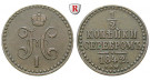 Russland, Nikolaus I., 1/2 Kopeke 1842, ss+