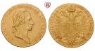 Franz II. (I.) - Kaiser von Österreich Brustbild mit kurzem Haar