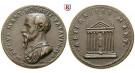 Personenmedaillen, Benavides, Marco Mantova - Italienischer Jurist, Bronzemedaille o.J., ss-vz