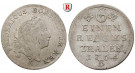 Brandenburg-Preussen, Königreich Preussen, Friedrich II., 1/6 Taler 1764, ss