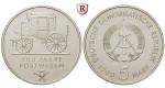 DDR, 5 Mark 1990, 500 Jahre Postwesen, st, J. 1631