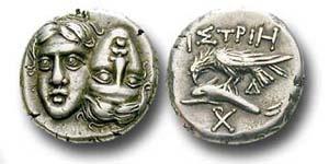 Die Zwillinge aus Istros - Eine Münze vom Schwarzen Meer