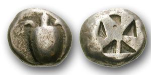 Die erste europäische Münze