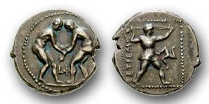 Die Ringer aus Aspendos